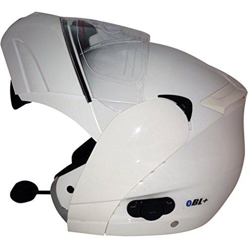 Viper Helmets Motorradhelm RSV131 BL2015, White, 55-56 cm