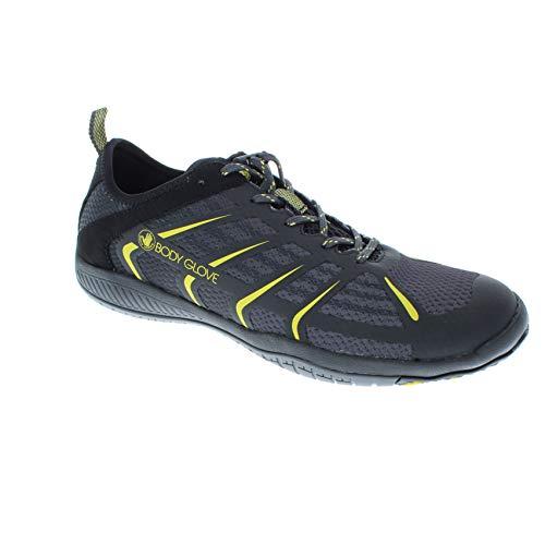 Body Glove Men's Dynamo Rapid Hydro Sports Trainer Water Shoe, Black/Yellow, 7