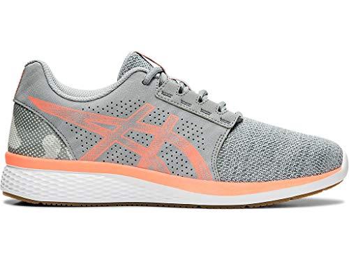 ASICS Women's Gel-Torrance 2 Running Shoes, 8M, Piedmont Grey/Sun Coral