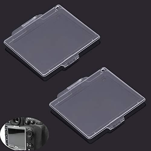 Protector de pantalla LCD para cámara Nikon D600 D610 DSLR, Fire Rock Protector de cubierta para cámara Nikon d600 d610 Reemplazar BM-14 (2 unidades)