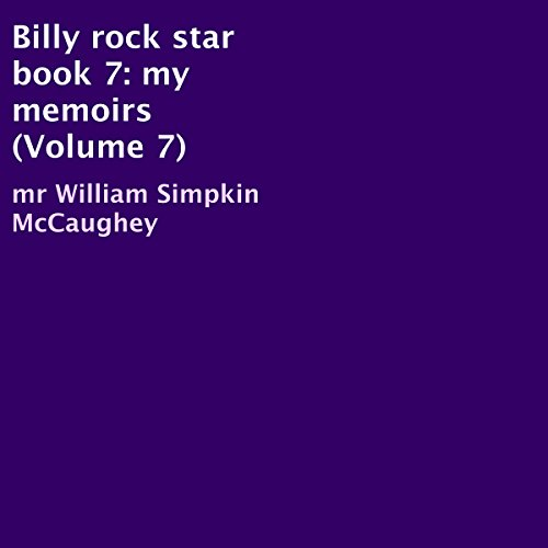 Billy Rock Star Book 7 audiobook cover art