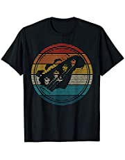 Bassiste Guitare Basse Retro Vintage Cadeau T-Shirt