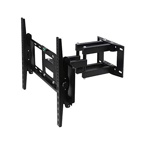 Soporte tv suelo Soporte de montaje en pared de TV de inclinación ajustable, adecuado para la mayoría de las 41-91 pulgadas LED, LCD, OLED, pantalla plana de plasma, TV curvo, tipo delgado, hasta 600x
