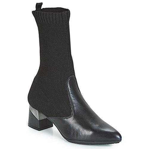 Hispanitas Lino Stiefel Damen Schwarz - 36 - Klassische Stiefel Shoes