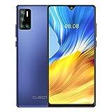 CUBOT J9 Smartphone, Quad Camera 6.2 Pulgadas 4200mAh Andorid 10 2GB RAM 16GB ROM Face ID Dual SIM GPS (Azul) (Reacondicionado)