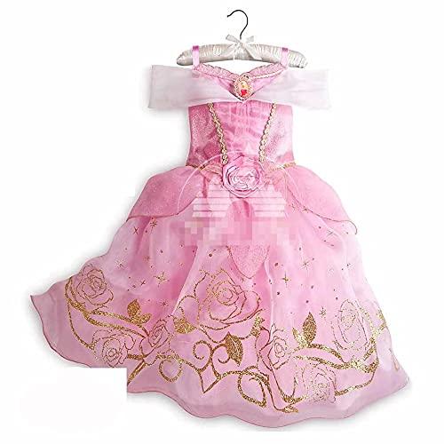 Navidad niño princesa Disney vestido de fiesta para niñas Halloween Frozen Elsa Jasmine Rapunzel traje niños Navidad ropa regalo de cumpleaños