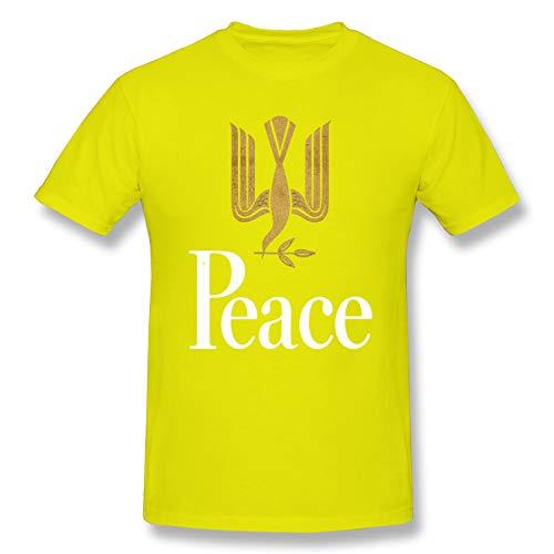 半袖Tシャツ メンズ ゴールデン バット 黄 M