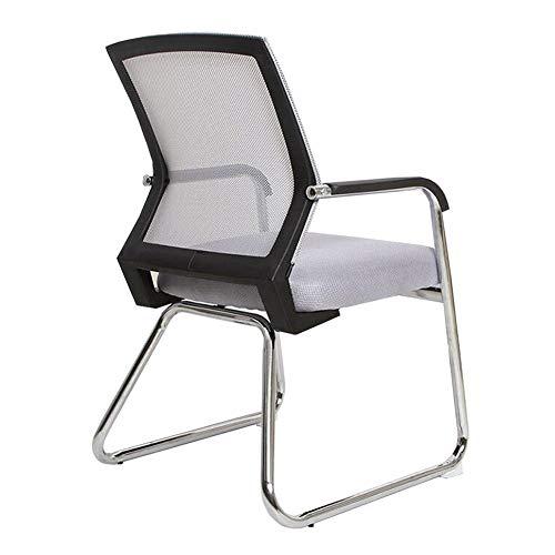 Dall Bureaustoel, ergonomisch, Bow vorm, netstoel, ademend frame van staal, zithoogte 45 cm