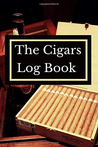 Cigar Log Book: Aficionado Tasting Notebook: Cigars to Smoke and Review, Cigar Journal