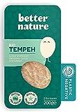 Better Nature Alternativa vegana para la carne hecha de tempeh de soja 100% BIO - 6x paquetes de 200g de deliciosas alternativas vegetales a la carne llenas de muchas proteínas y fibra