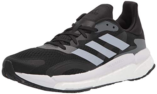 adidas Women's Solar Boost 21 Running Shoe, Black/Halo Silver/Grey, 5