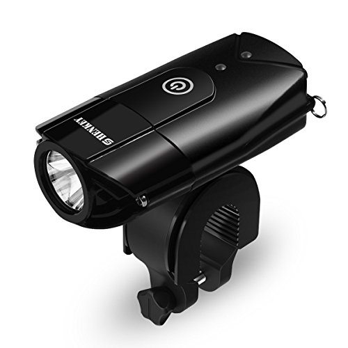 shenkey Bicycle Lights   2000mAh/1000 Lumen LED Bicycle Headlight USB Rechargeable,Super Bright Waterproof Light for Bike/Flashlight for Mountain & Kids & Street Bicycle
