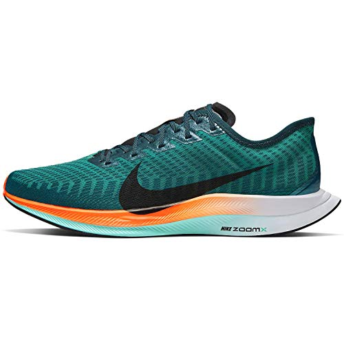 powerful Nike Zoom Pegasus Turbo 2 Neptune Green / Black-Midnight Turq Men's Running Shoes Size 10.5