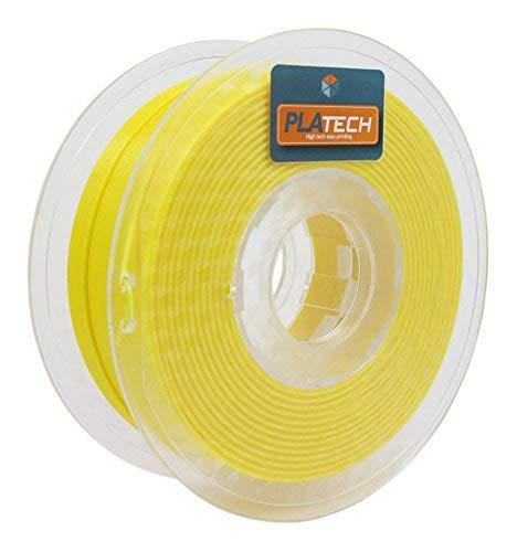 FFFworld 250 g. PLA Tech 1.75 mm. Filamento PLA 1.75 con bobina di precisione Optiroll - Filamento giallo