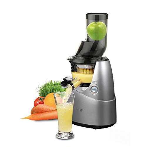 Kuvings Whole Slow Juicer Silver B6000S with Sortbet Maker, Cleaning...