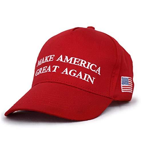 Bongles Donald Trump Cap Adjustable Usa-flaggen-baseball-mütze Schreiben Make Amerika Great Again Hut