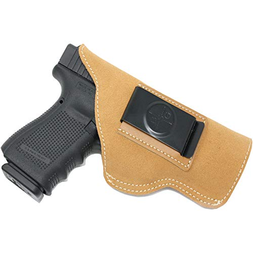 Black Scorpion IWB Suede Leather Holster - Made...