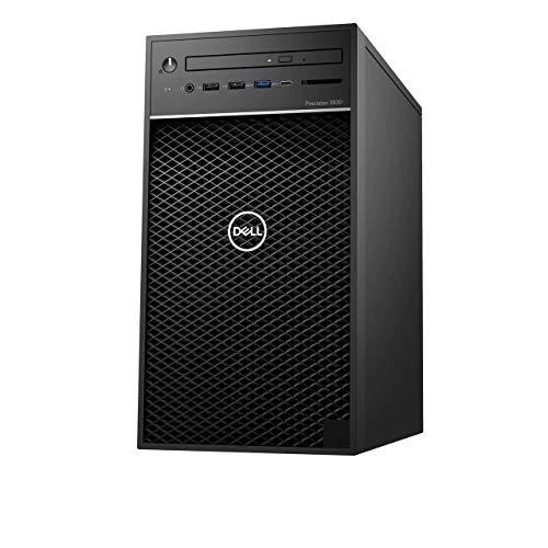 Precision 3630 Mini Tower MT, Intel Core i7-9700, 16GB (2x8GB) DDR4 RAM, 256GB SSD, AMD Radeon PRO WX 3200 4GB RAM, Windows 10 Pro