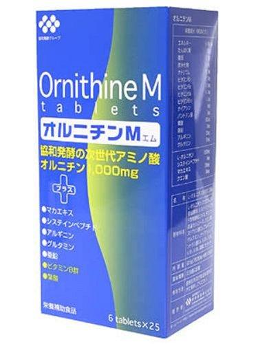 協和発酵 協和発酵オルニチンM 6粒×25袋 ×5個セット