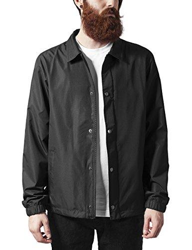 Urban Classics Coach Jacket Veste, Noir (Black 7), XX-Large Homme