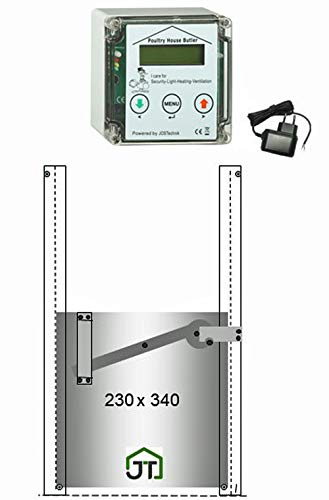 JOSTechnik - Portier Automatique pour poulailler...