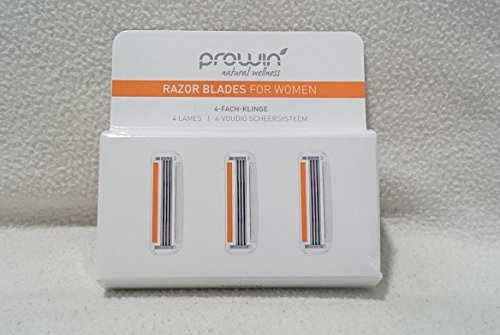 proWin RAZOR BLADES FOR WOMEN, 3 Stück