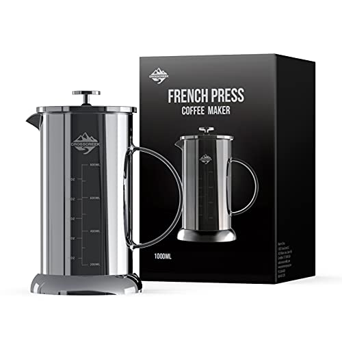 (83% OFF) Stainless Steel French Press Coffee Maker $4.99 – Coupon Code