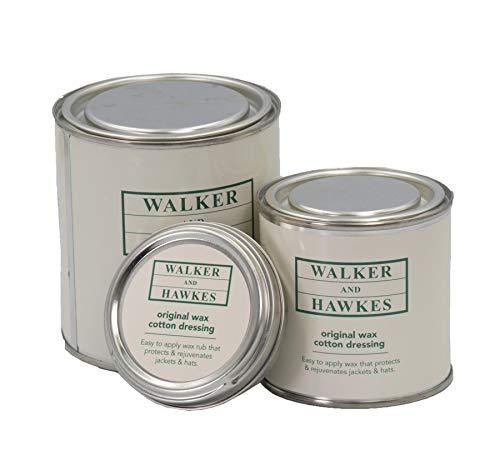 Walker and Hawkes - Cera original para recubrir tejidos de algodón - Protección y restauración de prendas de ropa y chaquetas - 50 ml