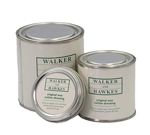 Walker and Hawkes - Cera original para recubrir tejidos de algodón - Protección y restauración de prendas de ropa y chaquetas - 200 ml