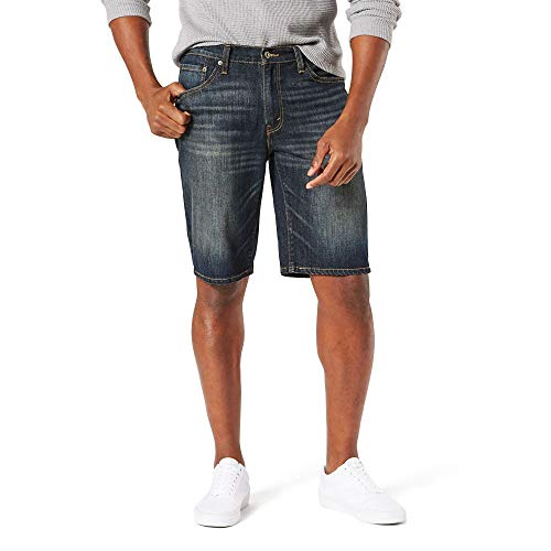 Signature by Levi Strauss & Co. Gold Label Men's Jean Shorts, 31W, Endeavor