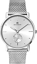Slimline Case 30m Splash Resistant Stunning Silver Sunray Dial Remote Seconds Sub-Dial Minimalism meets timeless classic, this watch offers a clean silver sunray dial and remote second hand. This is finished in a stainless steel case and fully adjust...