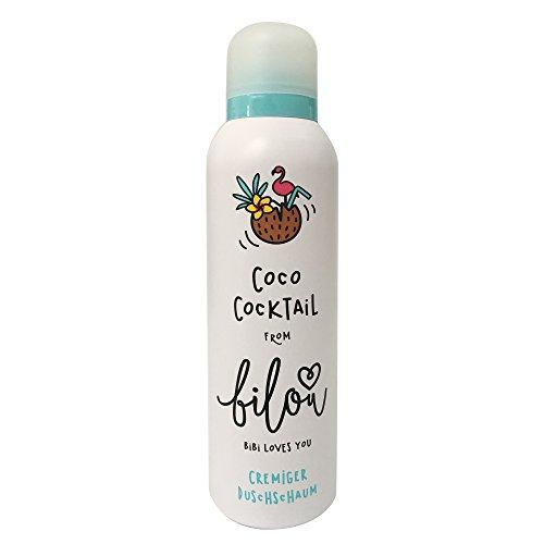 bilou Duschschaum Coco Cocktail (200 ml Flasche)