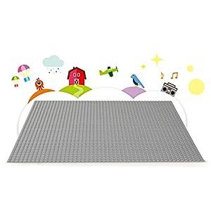 Amazon.co.jp - レゴ クラシック 基礎板(グレー) 10701