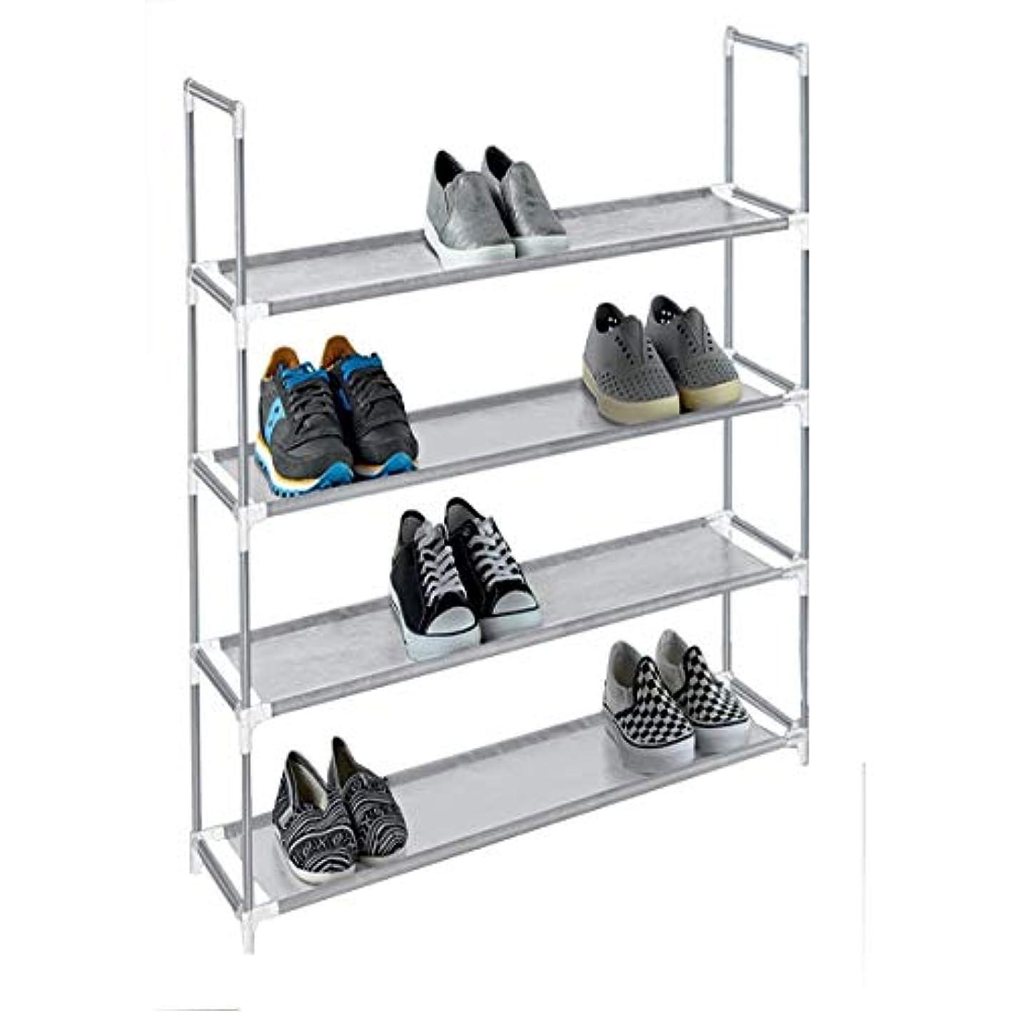 American Dream Home Goods Organizer 6920-GR Shoe Rack Grey ebldbl9640247