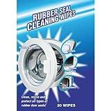 Salviette per pulire la guarnizione dello sportello della lavatrice, confezione da 20 pezzi