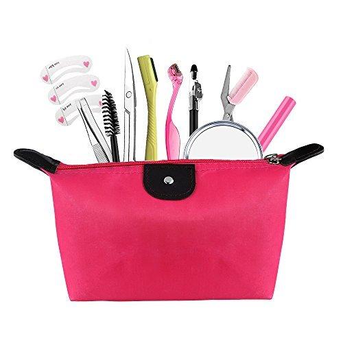 Tweezers and Scissors Set for Eyebr…