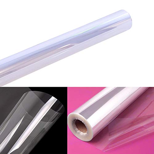 """Clear Cellophane Wrap Roll 