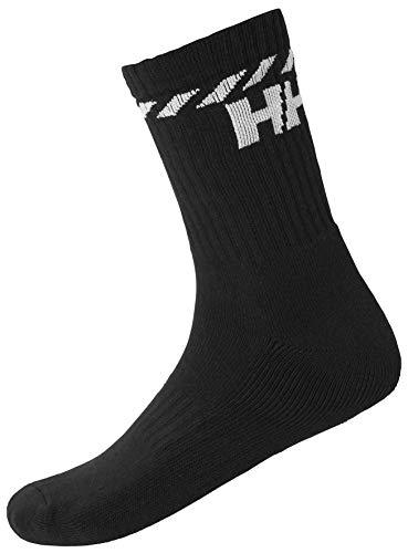 Helly Hansen Sport Baumwollsocken, Black, 36-38
