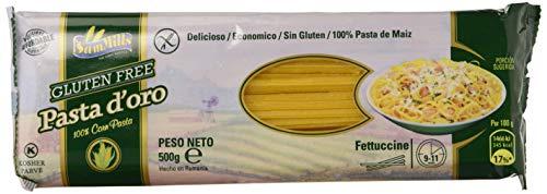 Sam Mills Fetuccine de Maíz sin Gluten - 12 Paquetes de 500 gr - Total: 6000 gr