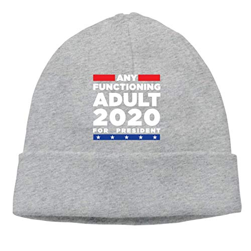 Lsjuee Any Functioning Adult 2020 for President gorro de punto unisex