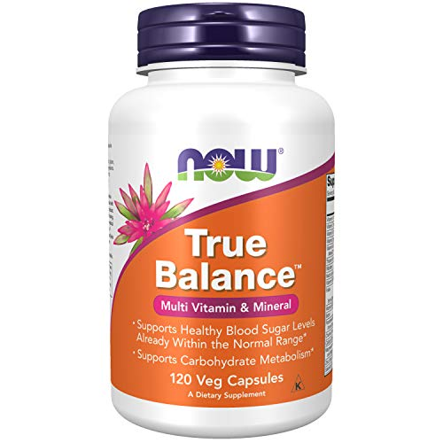 NOW Supplements, True Balance, a Multi-Vitamin, Multi-Mineral Supplement including Biotin, 120 Capsules