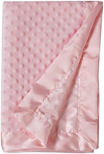 Hudson Baby Unisex Baby Plush Mink Blanket Pink One Size product image