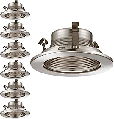 4 Inch Recessed Can Light Trim, for 4 inch Recessed Can, Fit Halo/Juno Remodel Recessed Housing, Line Voltage Available