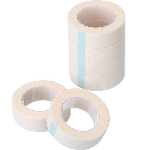 6 Rolle Wimpern Band Weiß Papier Fabrik Wimpern Klebeband für Wimpern Verlängerung Angebot