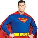 【福美康】 スーパーマン コスチューム コスプレ 衣装 ハロウィン クリスマス イベント superman 忘年会 仮装 誕生日