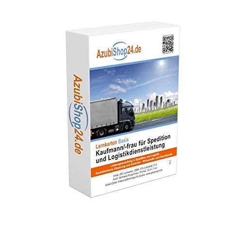 Logistik Prüfungsvorbereitung Spedition Prüfung Lernkarten Prüfungswissen Kaufmann / Kauffrau für Spedition und Logistikdienstleistung Prüfung: ... Logistikdienstleistung Prüfung AzubiShop24.de