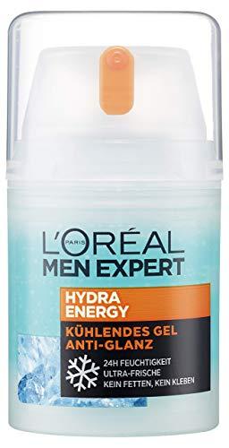 L'Oréal Men Expert Hydra Energy Anti-Glanz Feuchtigkeitspflege, für Männer, mit Matteffekt und...