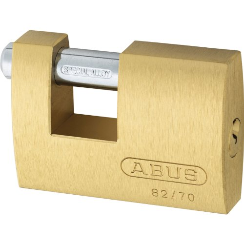 Advanced Abus 70 mm 82 Series monobloque de latón obturador candado c