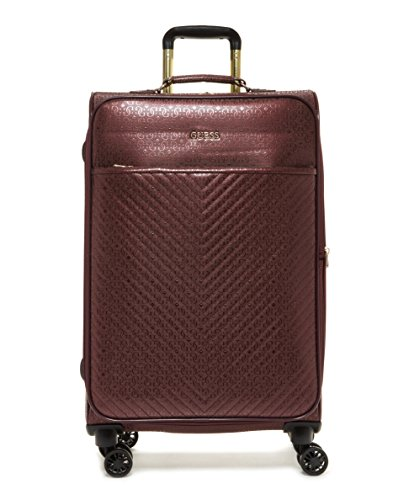 """Guess Halley 24\"""" Spinner 8-Wheeler Bordeaux"""