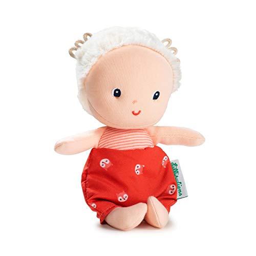 Lilliputiens 83127 Stoffpuppe Meine erste Babypuppe Mila 8x7cm